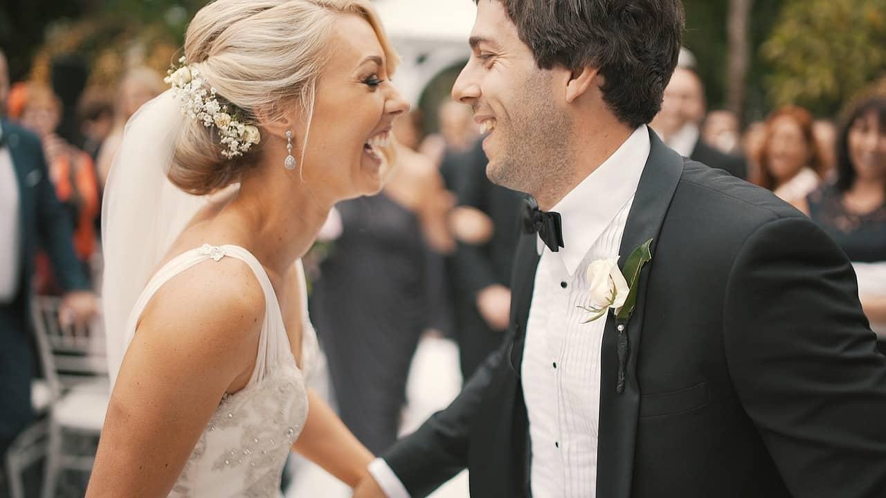זוג בחתונה