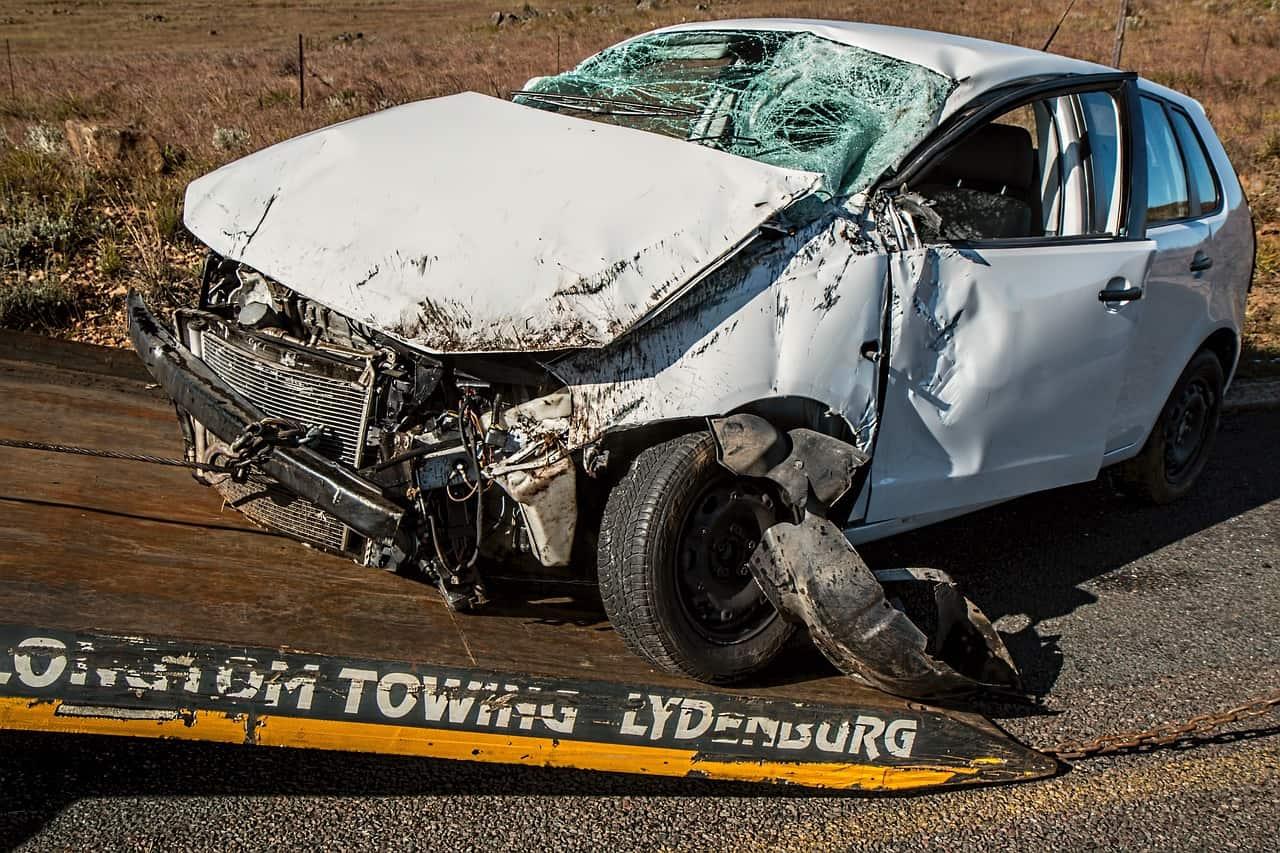רכב אחרי תאונה