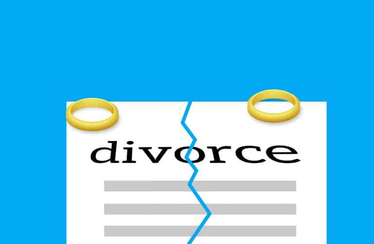 טבעות ומסמך גירושין