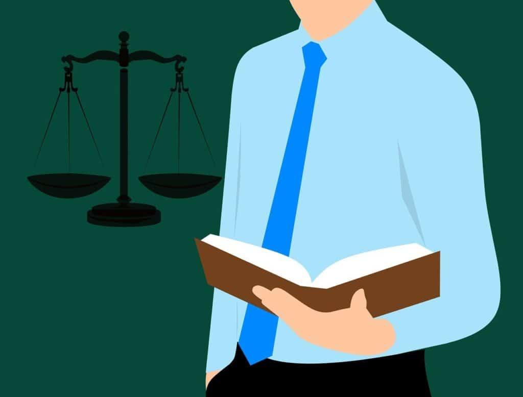 איש משפט קורא